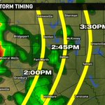 Powerful storms reaching DFW between 1PM-3PM. Please take every warning seriously even if its not tornado warning: http://t.co/MrKrAPpTSN