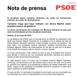 Carmona desmiente que ya haya cerrado pacto con Carmena http://t.co/j4u1JzjUOs http://t.co/g0To8xvqWM