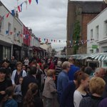 Great day @TheSuffolks Street Fair - Im sure it wasnt that grey though?! Fab food and stalls! http://t.co/aTQi5H1r7L