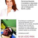 Ni un voto para @ferbayardo Por corrupta y prepotente!! http://t.co/pJrPOp6WLk