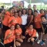 Torneo deportivo con universitarios organizado por @JulietaFMarquez candidata 4to Distrito Federal #GuerreroEnPaz http://t.co/eBS3jtv0n1