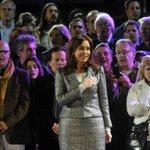 """.@CFKArgentina: """"Hemos construido otra vez la patria. Tenemos patria, argentinos, y estamos orgullosos de ella"""". http://t.co/zAEk1xrJRN"""