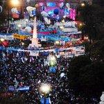 Al ver las calles llenas de banderas y argentinos con sus escarapelas me doy cuenta que estamos haciendo PATRIA! http://t.co/J9DM5NFz32
