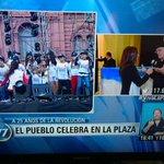 """La TV Publica pone su pantalla """"a 25 años de la Revolución"""" Era 1990 Se referira a la revolución productiva de Menem? http://t.co/KEVyik72Oh"""