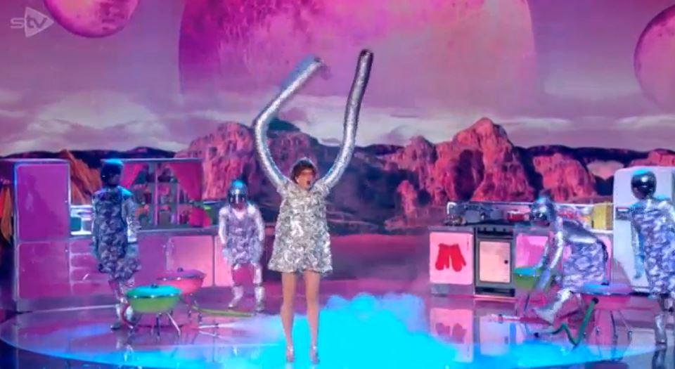 space is a wonderful place well that was different bgt bgtlive bowen707