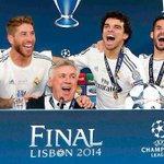 Con tus aciertos y tus errores GRACIAS por todo @MrAncelotti 1 Champions 1 Mundialito 1 Copa del Rey 1 S.Europa http://t.co/ydd5HAidEj