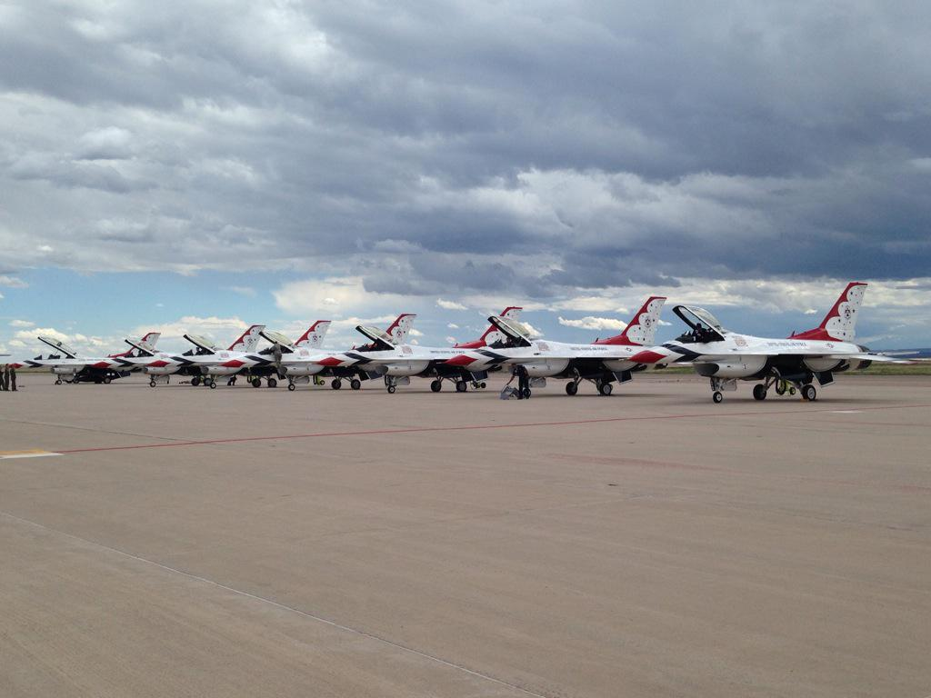 The Thunderbirds have landed! It is officially graduation week! #youracademy http://t.co/efEKZlRpJK