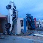 Devastador tornado en Acuña Coahuila!!! Apoyemos a nuestros hermanos http://t.co/0qivVd06dn