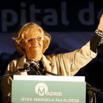 """#Grande Manuela Carmena en El Intermedio sobre Esperanza Aguirre: """"Yo creo mucho en la reinserción de Aguirre"""" JaJaJa http://t.co/wrjo6FbNhN"""