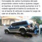 @Carlosmperalta @pjlsimon @chiqui_avalos @HugoSalerno @Elgroseroese @Rolfi2805 @themonoliths Baches de mi país. http://t.co/5Q4nE8FEgO