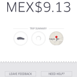 9 pesos de Perisur a Polanco. Te amo, @Uber_DF. #UberNoPara #UberSeQueda http://t.co/iDwBwxlqHv