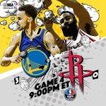 Game 4 of the #WCF between @Warriors & @HoustonRockets tips off at 9pm/et @ESPNNBA! #NBAPlayoffs http://t.co/iRgjJmTkK8