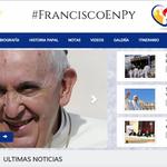 Lanzan web exclusiva sobre #FranciscoEnPy. Alianza de @Telefuturo @AM_1080 y @UltimaHoracom http://t.co/GGgEuY00I9 http://t.co/zaBVxpe0pg