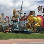 Va tomando forma Parque Fundidora @wishoutdoormex este fin de semana !! #Monterrey http://t.co/yDzB0AqBHr