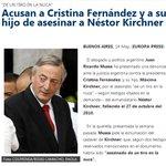 Los militontos cantan Néstor no se murió y CFK se les caga de risa en la cara!!! #GeniosPelotudos #CadenaNacional http://t.co/eVDtDQFWz7