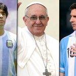 Lo mejor en el mundo es Argentino . La bandera , el himno ,El Papa, Maradona y Messi. Viva la Patria Carajo !!! http://t.co/UbV5Re1t7M