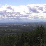 Mostly sunny out in #Fairbanks. A mix of low, fair wx cu, & high clouds. 65°F. Not expecting any more rain. http://t.co/cdKbiwRagy