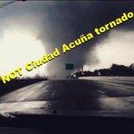 RT @SkyAlertStorm Falsa, la foto que circula sobre el tornado de Ciudad Acuña, Coahuila. Vía @WeatherHustle http://t.co/ktZHCcKqfn