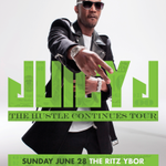 THE HUSTLE CONTINUES TOUR with @therealjuicyj stops by @theritzybor #Tampa on June 28! @RealDopeEnt http://t.co/vhkd8pHbo7