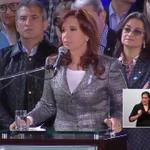 """.@CFKArgentina: """"Lo más importante de todo es que hemos construido nuevamente la patria, tenemos patria"""" http://t.co/oyJ6CAUcDV"""