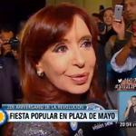 """[AHORA] @CFKArgentina """"Néstor está en todas partes, en cada jubilado, en cada trabajador, en el corazón de la gente"""" http://t.co/O69wtxNyrn"""