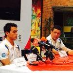 Regresó a Colombia Josimar Calvo concedio rueda de prensa en COC y viaja hoy a Cúcuta @noticucuta @areacucuta http://t.co/tFeRtASCeq