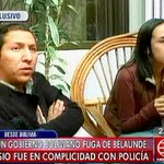 [VIDEO] Familiares de Martín Belaúnde Lossio en Bolivia le piden que se entregue ► http://t.co/O2fX1b09Rc http://t.co/nA8YrZWiVn