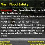 11 PM: Avoid travel tonight, Houston. Heavy rain continues. #txwx #houwx http://t.co/nrK9TxXEut