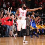 James Harden sets new playoff career-high with 45 points in Game 4 victory. http://t.co/INvJX6X1iK