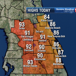 And the final numbers come in...Orlando hits 90 for the 7th straight day. 90 is normal this time of year. http://t.co/65PJ1mxuqN