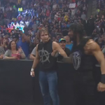 Look who it is!!!!! @WWERomanReigns got his brothers back. #Raw http://t.co/JfHGmQkSXm