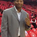 Big shot Robert Horry on hand for Game 4 tonight.