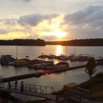 Sunset @rickscafeboatyard #Indianapolis #Indiana http://t.co/mAKz6KmyNs