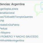 @AbrahamMateoMus ¡Enano! Fuimos tendencia en Argentina con --> #TourWhoIAMenArgentina ♥Te extrañamos mucho♥ http://t.co/VM2n1Fp77L fjg ♡♡♡