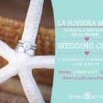 Participa este miércoles en el 1er. #WeddingChat #AmoLaRivieraMaya @delsolphoto @RivieraMaya @stylingtrio @PlayaGuide http://t.co/5s2jZbo04K