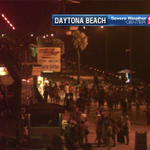 Busy night on the Daytona Beach Boardwalk...quiet weather as well. #WFTV http://t.co/IiyGZRor62
