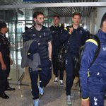 A few more of the players make their way through arrivals at Kuala Lumpur airport. #SpursInMalaysia http://t.co/XGrMaf3p7h