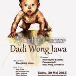 #jogja @SPS_YOGYAKARTA: 30/5/15 20.00 Bincang2Sastra Ajar Bali Dadi Wong Jawa di Pendapa Dinas Kebudayaan DIY | http://t.co/cbJ2npmz0w
