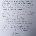 @leopoldolopez: Hoy finalmente los abogados pudieron ver a Leopoldo.Envió carta d su decisión d hacer huelga d hambre http://t.co/0DTzP8pROV