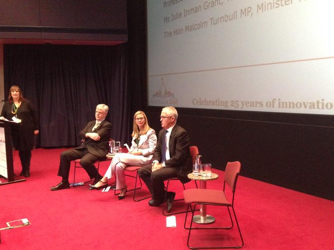 Speaking with @tweetinjules and Prof Michael Aitkin from Capital Markets CRC at the
