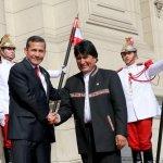 #NoHayQueOlvidar reunión en privado d los presidentes Humala y Morales el pasado 9/12 en Palacio de Gobierno.Tema:MBL http://t.co/hvpM1iGJMg