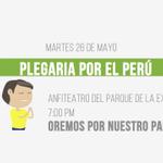 """VIDEO: """"Plegaria por el Perú"""" #ADELANTE #PeruSaludable / Participa, Martes 26 de mayo. https://t.co/Bt8Kfiv5b8 http://t.co/chvybd8jSU"""