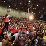 ¡Estoy muy contenta de estar en #Mty, con todos ustedes, siento su alegría, su fuerza y su apoyo! #IvonneGobernadora http://t.co/tYDRoxox5F
