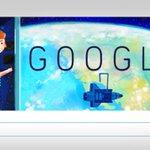 Google celebrates American astronaut Sally Ride's 64th birth anniversary http://t.co/wFbRDxLJdD