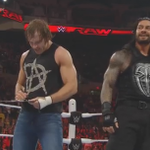 SIGNED. SEALED. DELIVERED. #Raw @TheDeanAmbrose @WWERomanReigns http://t.co/4Qm0lpqxYQ