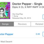 RT @chaelinCL #DoctorPepper now available in U.S. iTunes store: http://t.co/olwJ4DaiiR @diplo @JODYHiGHROLLER @OGMaco http://t.co/EAq2n6LYZw