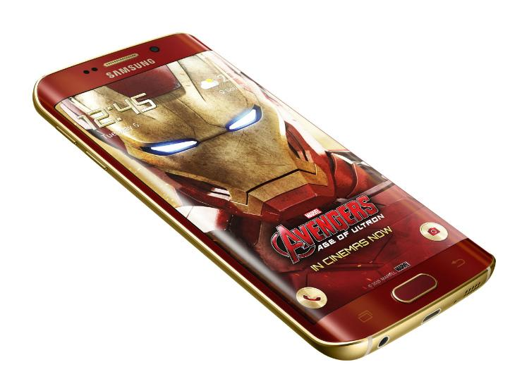 Samsung unveils Galaxy S6 edge Iron Man Limited Edition http://t.co/V0tdotJhv6 http://t.co/zMk4h9m80A