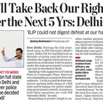 Well Take Back Our Rights Over the Next 5 Yrs : Delhi CM @ArvindKejriwal #JantaKiCabinet http://t.co/wt3x0CEbLK