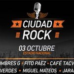 RT @OcioLaRepublica Ciudad Rock: Conoce los precios de las entradas para el festival musical http://t.co/EQ6RiJP5KA http://t.co/8oTtgOyfIJ