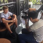 .@ericdier recording for @Oh_My_English in Malaysia on #THFCs first visit here since 1979. #SpursInMalaysia http://t.co/SBupEhAvjk